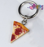 St marker clay: Pizza slice